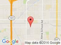 Map of Good Car Company at 1761 W Broadway Rd, Mesa, AZ 85202