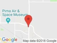 Map of Tucson Park & Sell RVs, Inc. at 6990 E.Old Vail Rd., Tucson, AZ 85756