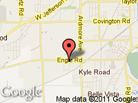 Map of Ultra Motorsports LLC at 4325 Engle Ridge Drive, Fort Wayne, IN 46804