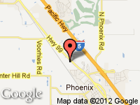 Map of All RV Needs at 3800 South Pacific Highway, Medford, OR 97501