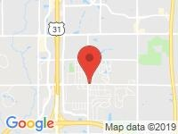 Map of Recovery Auto Sales & Shop at 740 E 106th st, Indianapolis, IN 46280