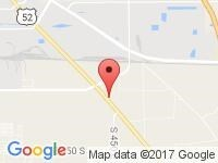 Map of CAC Auto Group at 3617 US HWY 52 S, Lafayette, IN 47905