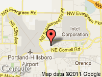 Map of www.DAngeloAutoSales.com at 1400 N E 48th Ave, Hillsboro, OR 97124