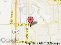 Map of CarZone at 5021 Auburn Way North, Auburn, WA 98002