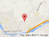 Map of Mix Auto at 17861 Sierra Hwy, Canyon Country, CA 91351