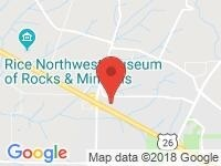 Map of Discovery Plus Motors LLC at 23692 NW Clara Lane, Hillsboro, OR 97124
