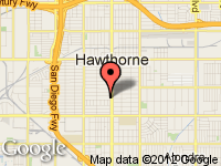 Map of Prime Auto Sales at 13787 Hawthorne Blvd, Hawthorne, CA 90250