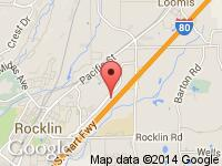 Map of Bill Eads RV's Inc. at 4409 Granite Drive Unit B, Rocklin, CA 95677