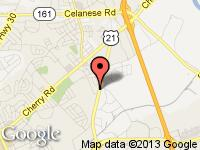 Map of Wanted Wheels at 651 N. Anderson Road, Rock Hill, SC 29730