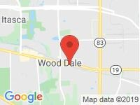 Map of CHICAGO  CARMASTER at 752  N EDGEWOOD AVE, Wood Dale, IL 60191