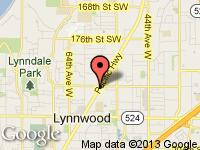 Map of AUTOPLEX MOTORS at 18823 HIGHWAY 99, Lynnwood, WA 98036