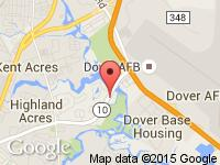 Map of IntelliCar Dover at 375 Gateway South, Dover, DE 19901