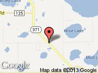 Map of Miltimore Motor Company at 16604 Hwy 371, Brainerd, MN 56401