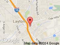 Map of Hatchco Inc. at 338 S Fort Lane, Layton, UT 84041