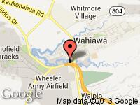 Map of Top Value Auto at 152 Wilikina Dr., Wahiawa, HI 96786