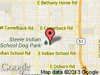 Map of Right Choice Automotive at 4335 N 7th St, Phoenix, AZ 85014