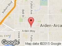 Map of ABM MOTORS INC at 1827 Fulton Avenue, Sacramento, CA 95825