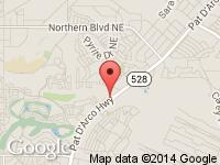 Map of Ram Motors at 4537 Arrowhead Ridge Dr SE, Rio Rancho, NM 87124