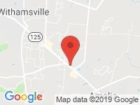 Map of DENNIS SMITH AUTO SALES INC at 1350 OHIO PIKE, Amelia, OH 45102