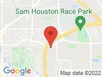 Map of MW Carline at 5704 Southwest Freeway, Houston, TX 77057