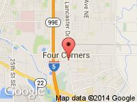 Map of Dave Morton Auto Sales at 270 Lancaster Dr SE, Salem, OR 97317