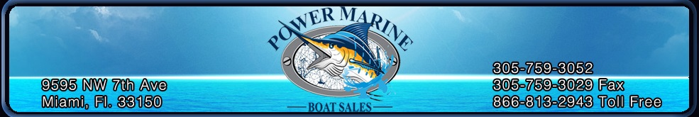Power Marine Boat Sales South Florida