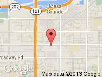 Map of VIP Auto Sales at 2255 W Main St., Mesa, AZ 85201