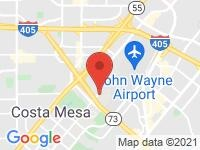 Map of Eurocar at 2920 Redhill Ave, Costa Mesa, CA 92626