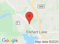 Map of THEEL AUTO at N8364 County Road J, Elkhart Lake, WI 53020