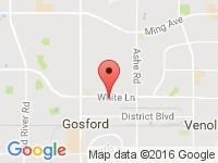 Map of Bakersfield Used Cars at 7301 White Lane, Bakersfield, CA 93301