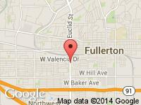 Map of Speedway Auto at 600 S Euclid St, Fullerton, CA 92832