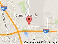 Map of Autobahn Gallery at 5947 Dougherty Rd, Dublin, CA 94568