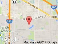 Map of NETMOTORCARS at 1030 Republic Drive, Addison, IL 60101