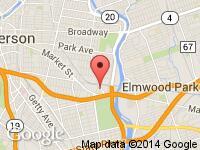 Map of Galaxy Auto One at 565 E 39th St, Paterson, NJ 07513