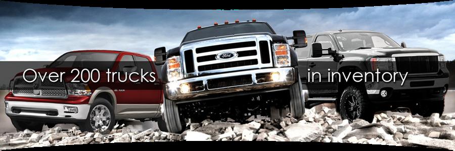 used diesel trucks