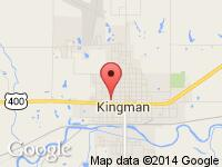 Map of Bobz Bikz at 400 E Avenue D, Kingman, KS 67068
