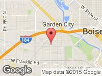 Map of Smart Buy Auto Sales LLC at 804 N Orchard Street, Boise, ID 83706