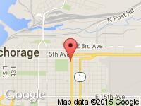 Map of Good Guys Auto Sales LLC at 640 Gambell Street, Anchorage, AK 99501