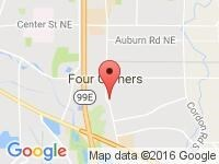 Map of Auto Outlet Inc. at 496 Lancaster Drive SE, Salem, OR 97317