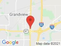 Map of Ds Auto Imports at 111 North Dirksen Parkway, Springfield, IL 62702