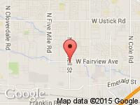 Map of Big Sids Auto Sales at 9775 W Fairview Ave., Boise, ID 83704