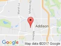 Map of Dallas Auto Sales at 3400 Wiley Post Rd., Carrollton, TX 75006