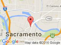Map of Auto Discount Outlet at 1450 Sproule Ave, Sacramento, CA 95811