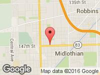 Map of Elite Auto Credit at 4530 W 147th, Midlothian, IL 60445