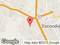 Map of Richard's Car Co at 2051 Auto Park Way, Escondido, CA 92029