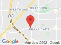 Map of Amazing Cars at 12227 Murphy Road, Stafford, TX 77477