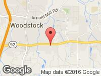 Map of Southern Auto Brokers, Inc at 1355 Londonderry Drive, Woodstock, GA 30188