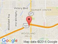Map of Sassy Motorsports at 22055 Ventura Blvd, Woodland Hills, CA 91364