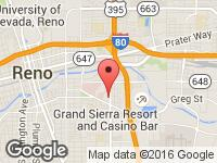 Map of Affordable Auto Sales at 515 Kietzke Ln, Reno, NV 89502
