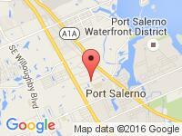 Map of Allvette at 4644 SE Municipal Ct., Stuart, FL 34997